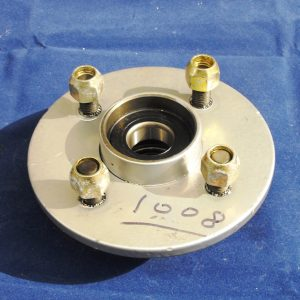 Trailer Hubs, complete with bearings. Unbraked, 100mm PCD Rated 750kgs per axle our ref AP0585/1008