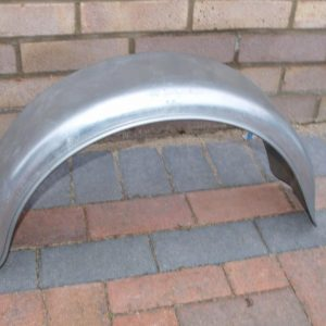Mudguard 8? single, galvanised New