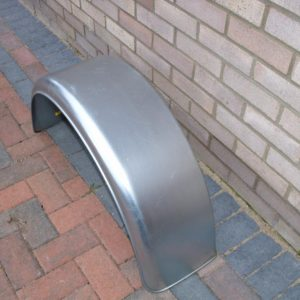 Mudguard 16 inch single, galvanised New