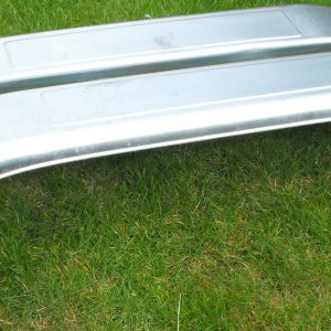 Mudguard 13? double axle, galvanised 58 x 8.5 inches New