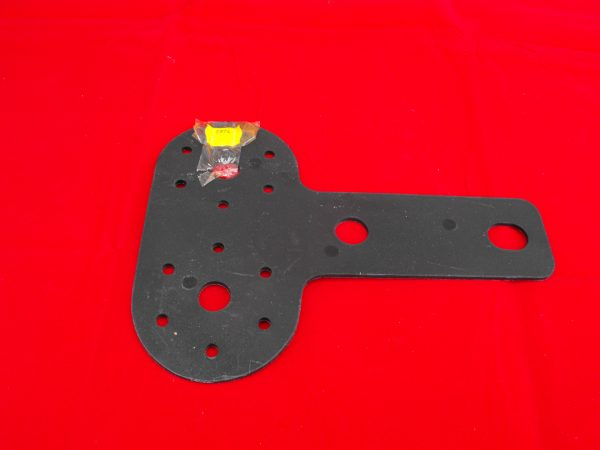 Socket mounting replacement plate, single socket.