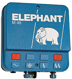 Energiser Elephant M40 mains operated