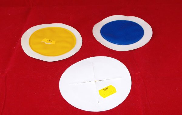 Tax Disc Holder, self-cling vinyl, assorted colours: white, yellow, blue,  Code AP1039