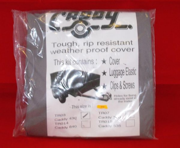 Caddy Trailer 430 Tarpaulin Cover Kit