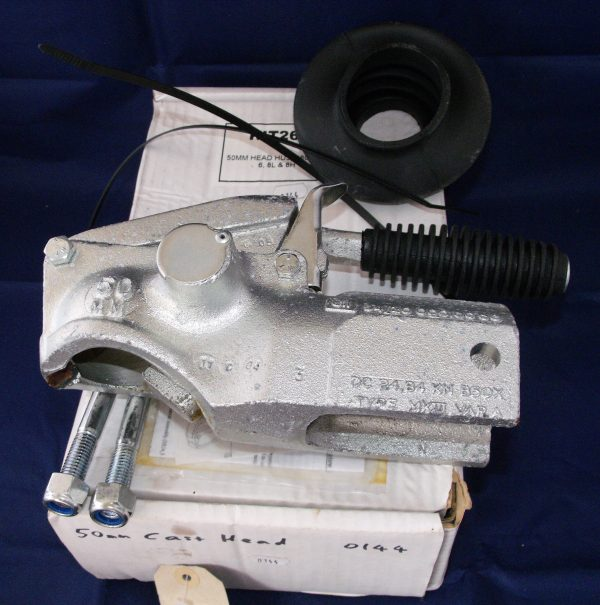 50mm Coupling Head. Bradley HU3 50mm ball coupling head Kit 266, complete with bellows, ties, nuts To Suit: HU3, 4, 5, 6, 8 & S80.