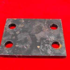 Towbar Drop Plate 3inch drop, 4 hole, Code AP0481