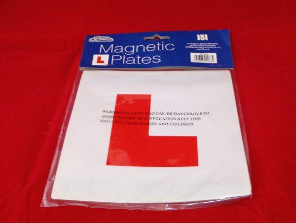 L Plates Magnetic, pk2 Code AP0699