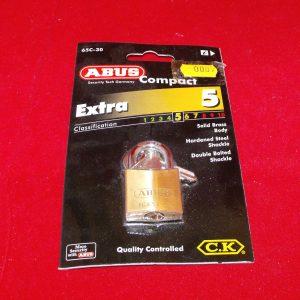 Padlock, small padlock Abus 65/30 Code AP0005