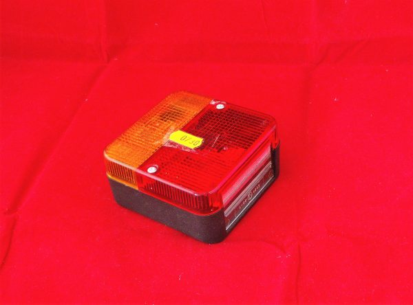 Trailer Light, rear, LEP square-shape 4 function  Code AP 0730