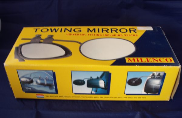 Towing Mirror – Flat lens for offside or driver's use New Code AP0820