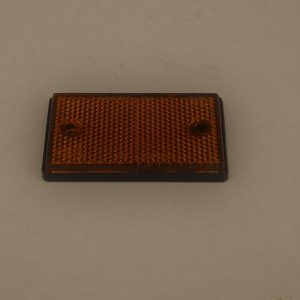 Amber Rectangular side Reflector