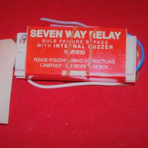 Relay – 7 way bulb failure bypass relay Code AP0928