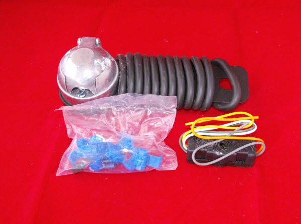 Towbar Wiring kit, prewired 12N audible relay,single electric, plastic